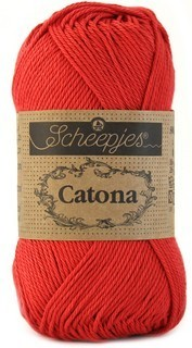 Scheepjes Catona 516 Candy Apple